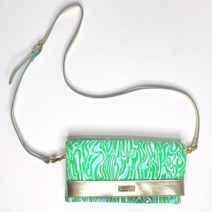Lilly Pulitzer Hot to Trot Foldover Crossbody Bag